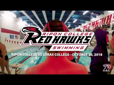Ripon Swim Meet vs. Loras College (10/20/18)