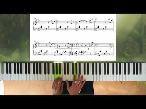 Zelda: Breath of the Wild Korok Forest piano + sheet music + improv