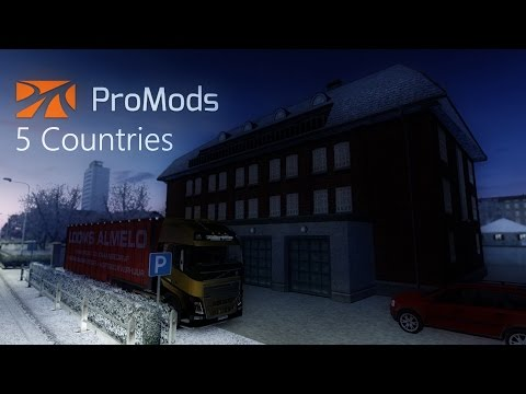 Euro Truck Simulator 2 - Timelapse #24 - Finland, Estonia, Latvia, Lithuania and Poland