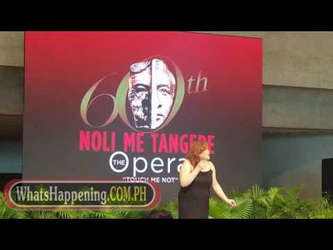 Noli Me Tangere The Opera (Press Preview)