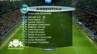ملخص مباراة الارجنتين و البرازيل 4-1 نهائي كأس القارات (من الذاكرة)