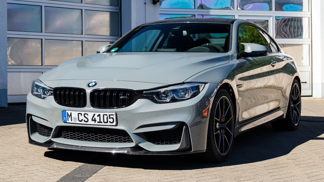 2017 BMW M4 CS - Exterior and Interior - YouTube