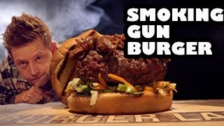 Smoking Gun Burger Recipe - Burger Lab