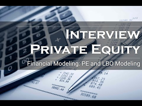 Learn how to build a private equity model. Crush your PE modeling test / interview.