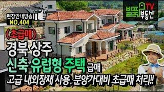 (초급매) 경북 상주 신축 유럽형 전원주택 매매 고급 …