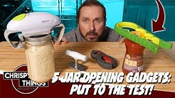 5 Jar Opening Gadgets put to the test! How do you open jars??