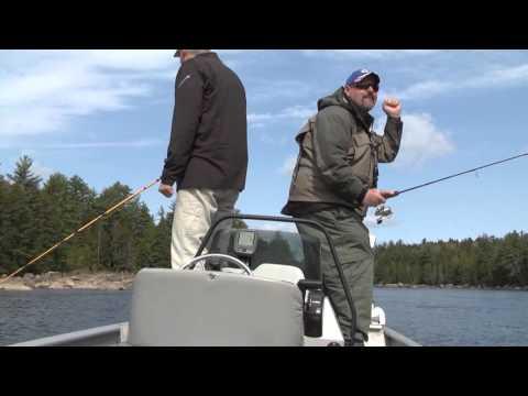 MAINE Fishing - Ice Out Landlocked Salmon - GoFishDan