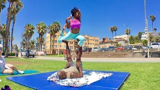 Things to Do in VENICE BEACH: ACROYOGA