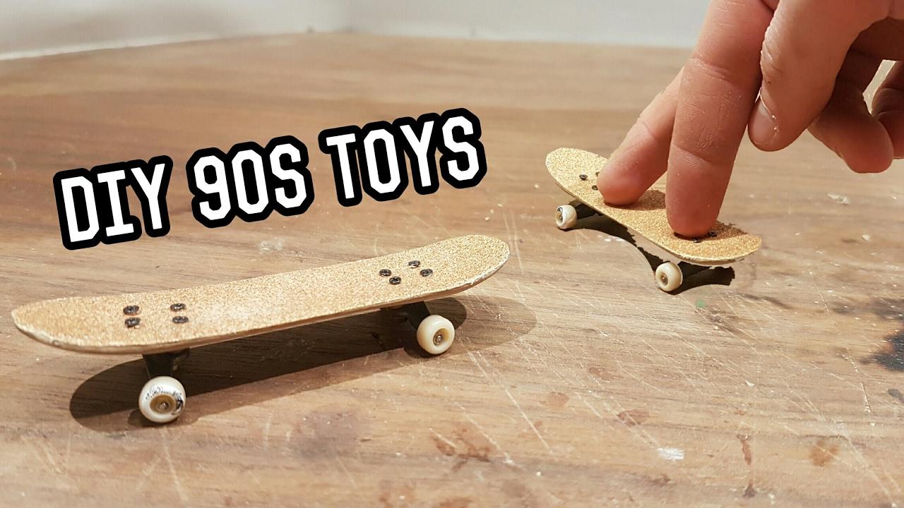 90s toys diy finger skateboard youtube 90s toys diy finger skateboard solutioingenieria Images