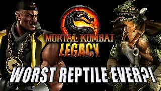 WORST REPTILE & JAX WITH A GUN: Mortal Kombat Deadly Alliance (MK Legacy Part 14)