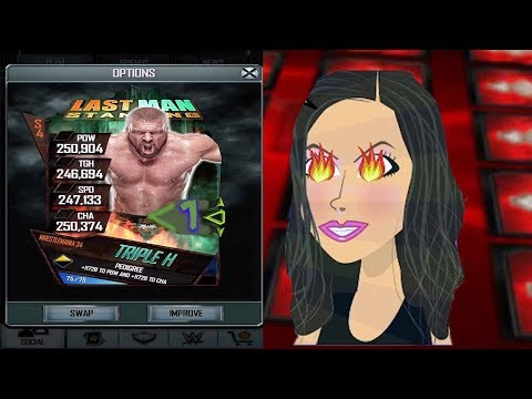 This graphic is lit!! WWE SUPERCARD S4