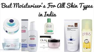 Best Moisturiser's for All Skin Types in India | Best All time Moisturisers | Top List