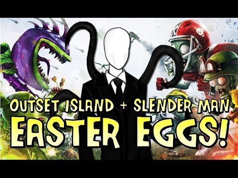 Easter eggs? Here are two in Garden Warfare — including the Slender Man