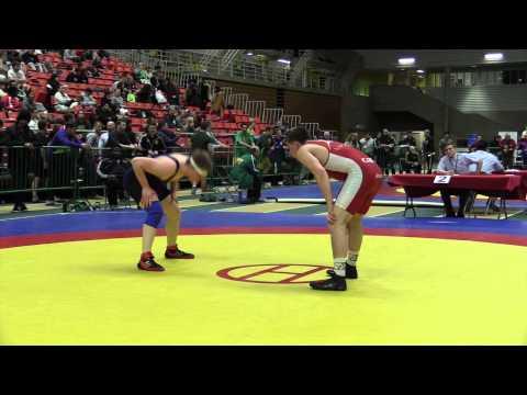 2014 Junior National Championships: 84 kg Jacob Luczak vs. Conor McIntyre