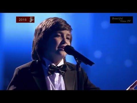 Ilya/Arseny/Azer.'Una Furtiva Lagrima'.The Voice Kids Russia 2016.