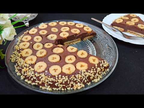 gâteaux-sans-cuisson-à-la-poêle-!-👌-/-banana-cake-recipe-without-oven