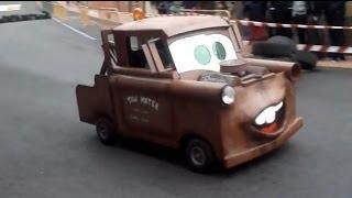 AUTOS LOCOS BENAVENTE 2013, LA VEGUILLA 2ª EDICCION: GRUA MATE Y MAS..... CRAZY CARS
