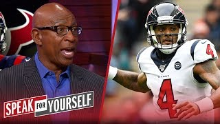 Eric Dickerson on why he'd rather have Deshaun Watson over Lamar Jackson | NFL | SPEAK FOR YOURSELF