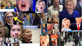 Collection Of Hillary Clinton Seizures - Indicators Of Serious Medical Issues