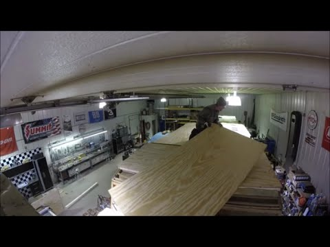 92 Terry Resort Camper Build Quot Plywood On Roof Quot Youtube