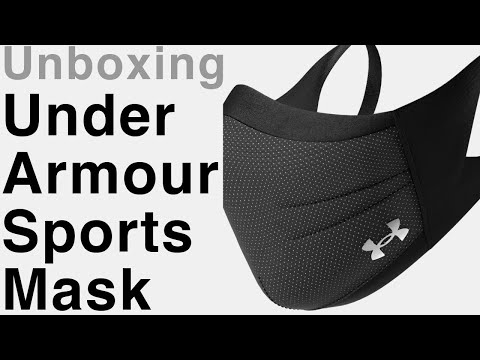 unboxing-under-armour-sports-mask-|-under-armour-face-mask-review