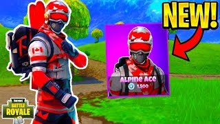Buying The New Alpine Ace Skin In Fortnite Battle Royale!!!!!!!