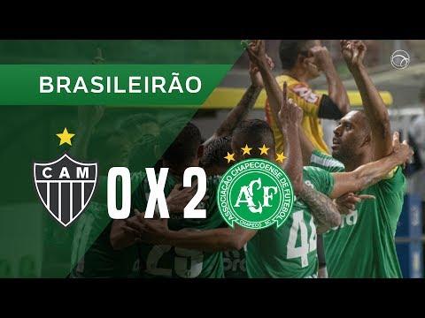 ATLÉTICO-MG 0 X 2 CHAPECOENSE - GOLS - 30/10 - BRASILEIRÃO 2019