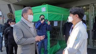 박진 의원, 강남구립행복요양병원 방문 2