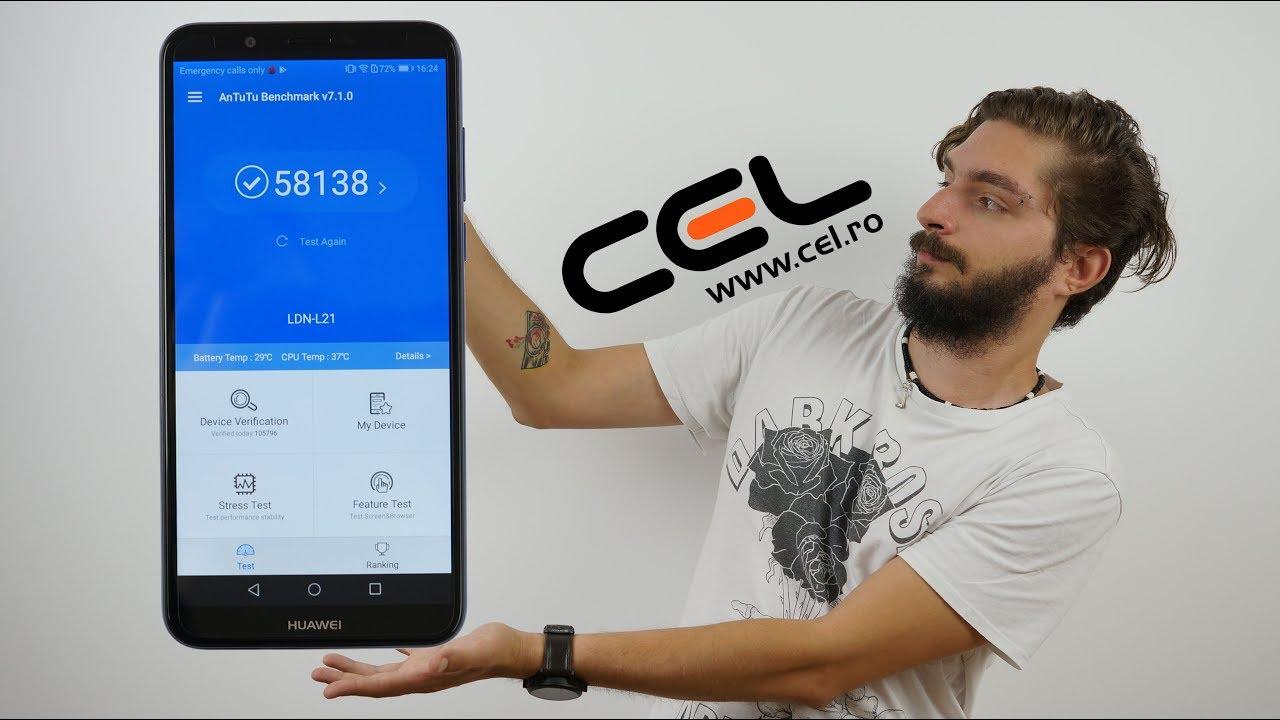 Huawei Y7 Prime (2018) - Unboxing & Review în limba română