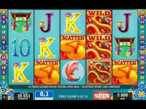 Gold Club slot game 9 Dragons.avi