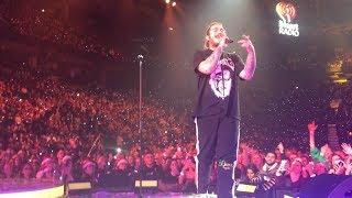 Post Malone Go Flex iHeartRadio Jingle Ball Live Front Row Toronto