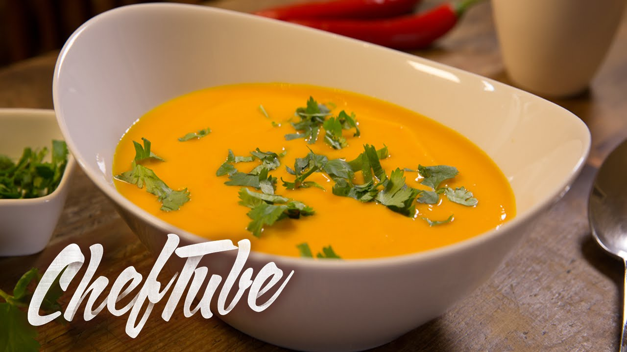 How to make pumpkin soup with coconut milk recipe in description how to make pumpkin soup with coconut milk recipe in description youtube forumfinder Images