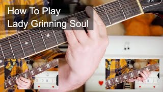 """""""Lady Grinning Soul' David Bowie Guitar Lesson"""
