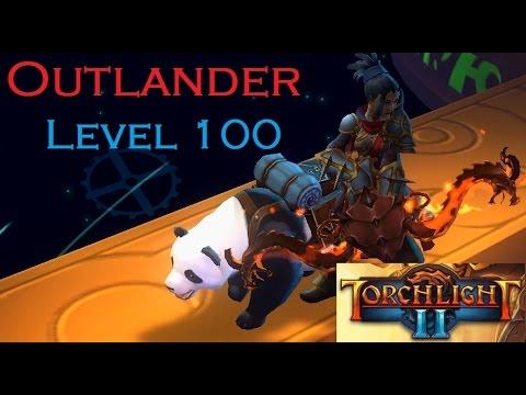 Torchlight 2  Outlander level 100  MAXOUT Test Run and Final Boss