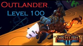 [Torchlight 2]  Outlander level 100  MAX-OUT Test Run and Final Boss