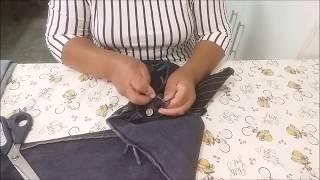 Como transformar calça jeans para gestantes