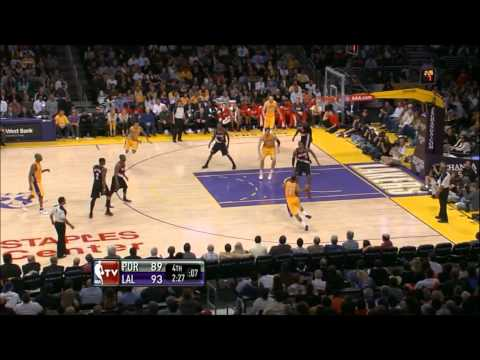 Ramon Sessions Highlights First Lakers Start vs Portland Trail Blazers HD  Quality