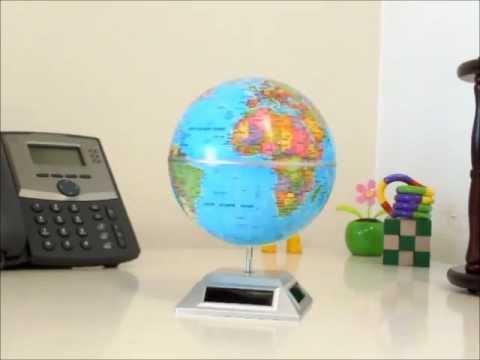 Solar Power Motion Toy - Solar Globe |  OfficePlayground.com