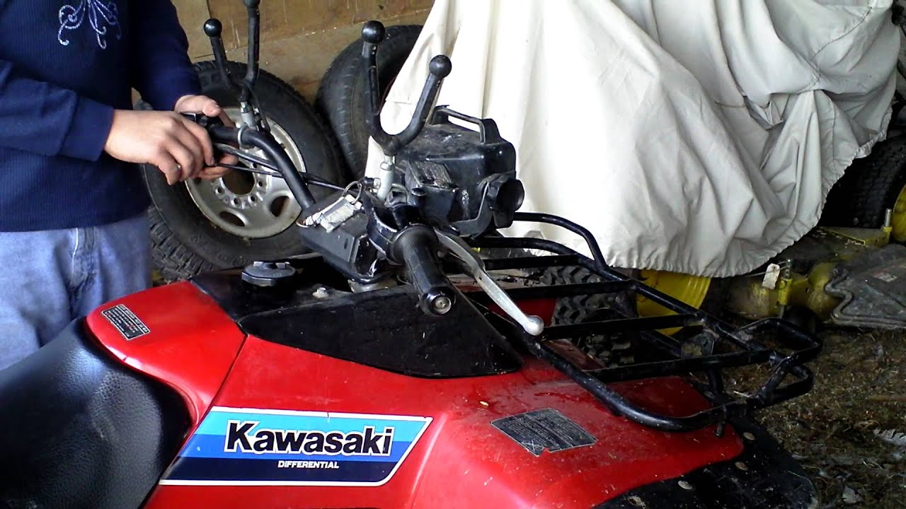 Kawasaki Bayou 300 update and start up  YouTube