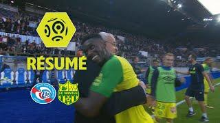 RC Strasbourg Alsace - FC Nantes (1-2)  - Résumé - (RCSA - FCN) / 2017-18
