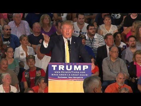 Donald Trump Faces Backlash After Not Correcting Man Calling Obama Muslim