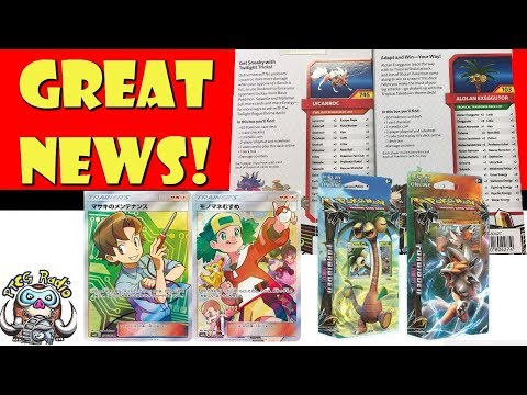 Pokemon TCG News: Awesome Theme Decks, Beautiful FAs and Exciting Promos!