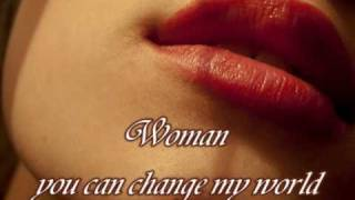 SCORPIONS - Woman (with lyrics)