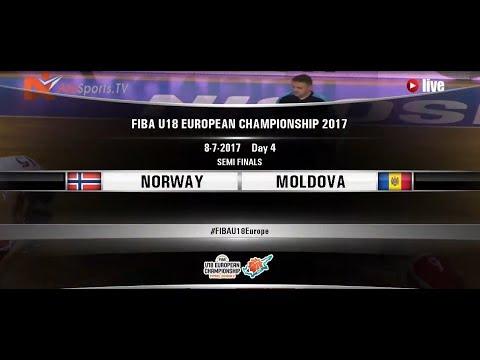 FIBA U18 EUROPEAN CHAMPIONSHIP | 08July2017 NORWAY vs MOLDOVA 2nd half