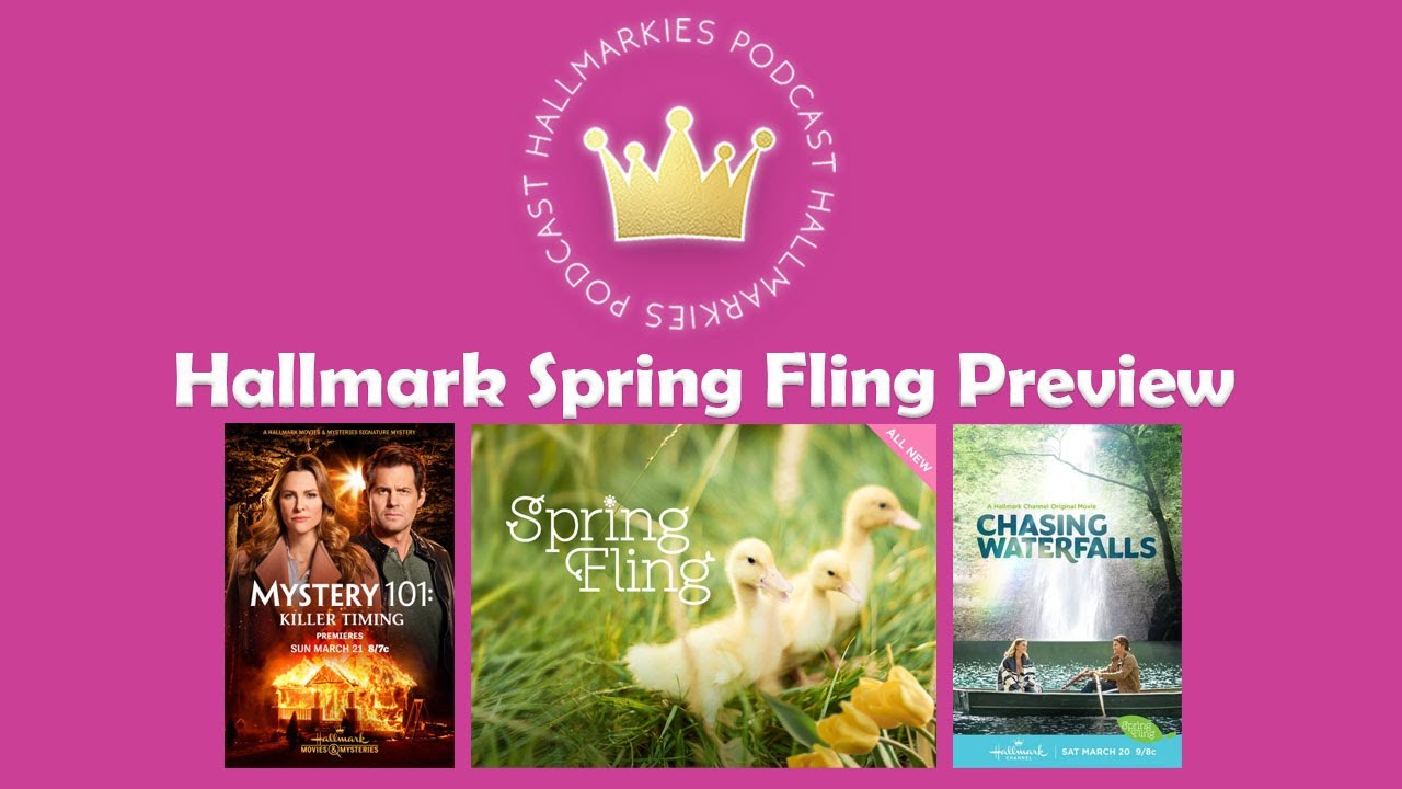 Hallmark 2021 Spring Fling Preview with Bree Hill