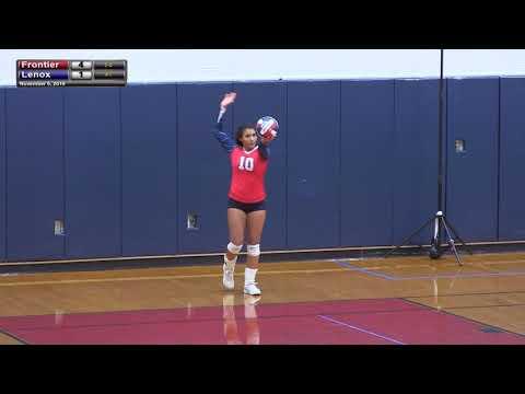Frontier Regional School Volleyball vs Lenox - Western Mass Semi-Final