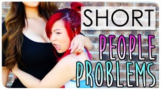 SHORT PEOPLE PROBLEMS | Daily Struggles Only Short Girls Understand | JUST JACKIE