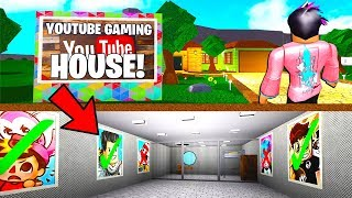 I Found A YouTuber Gaming Mansion.. He Was Secretly TRAPPING THEM! (Roblox Bloxburg)