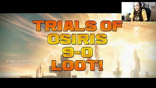 Destiny - THE LIGHTHOUSE! - TRIALS OF OSIRIS 9-0 SCORECARD REWARD