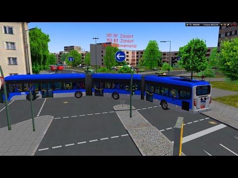[OMSI 2] Quadbus Brt Biarticulado Linha M5 Mapa: Winesburg 2015